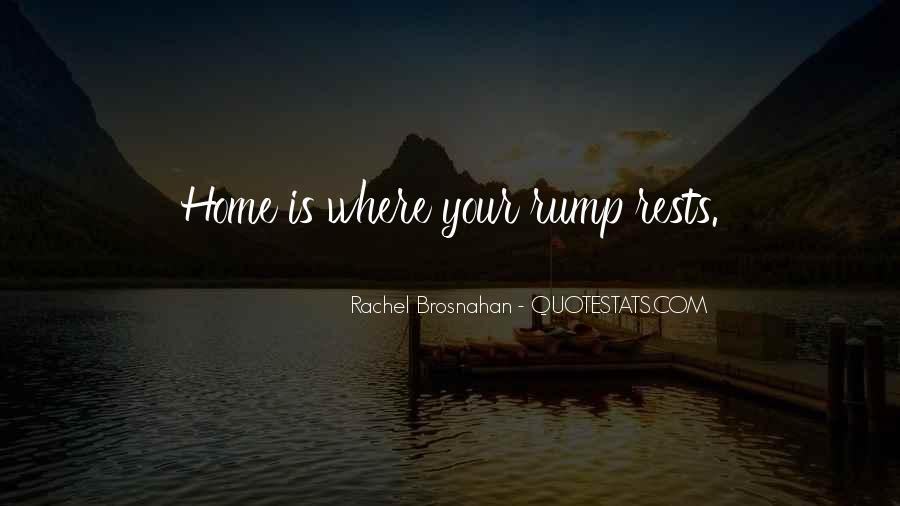 Quotes About Rump #1182295