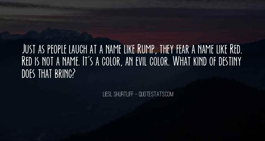 Quotes About Rump #1455559