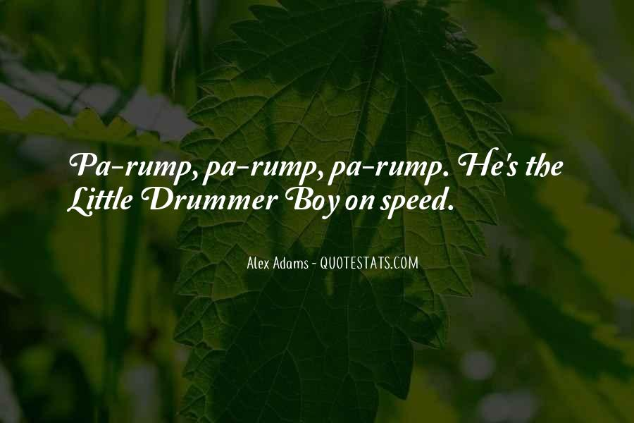 Quotes About Rump #371403