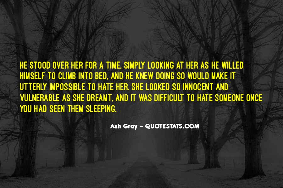 Quotes About Bed And Sleeping #1096990