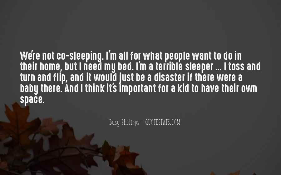 Quotes About Bed And Sleeping #1550911