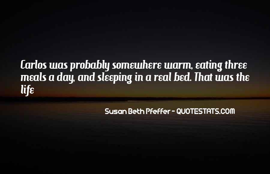 Quotes About Bed And Sleeping #1865271