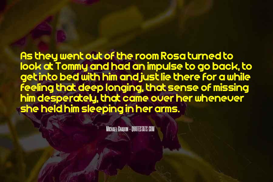 Quotes About Bed And Sleeping #450772