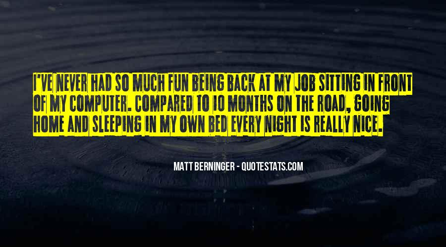 Quotes About Bed And Sleeping #745062