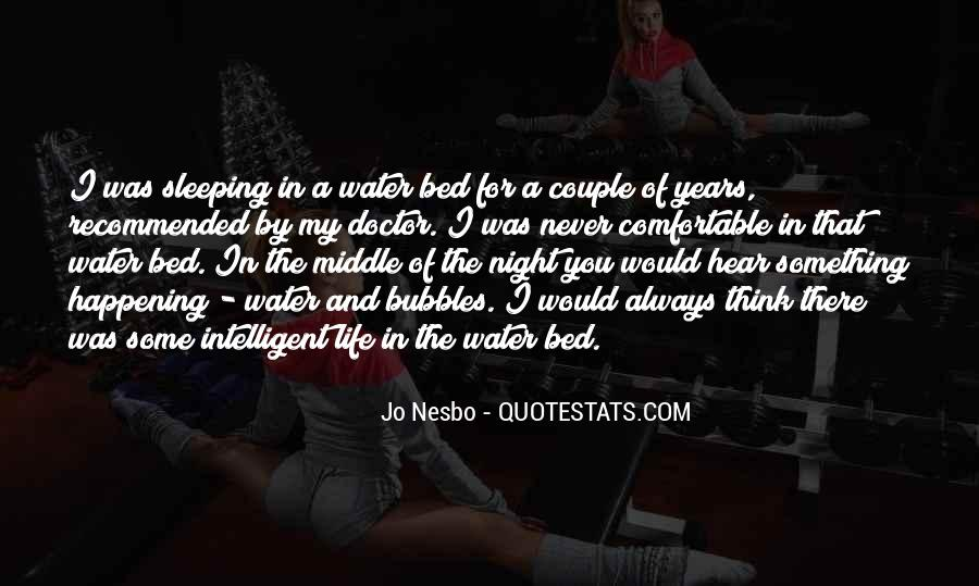 Quotes About Bed And Sleeping #888589