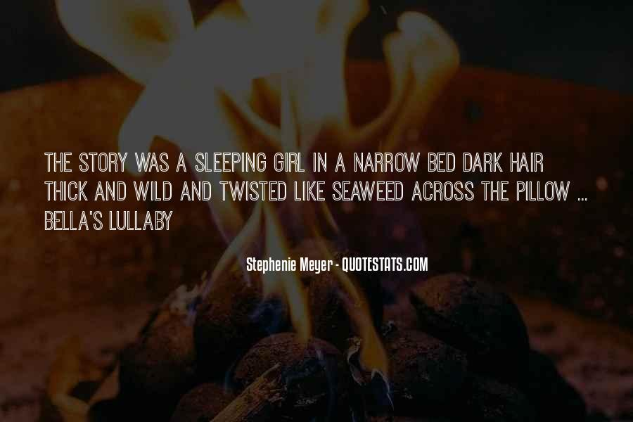 Quotes About Bed And Sleeping #893275