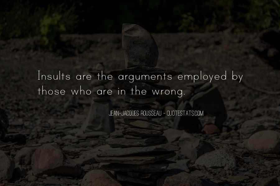 Quotes About Insults In Arguments #1706639