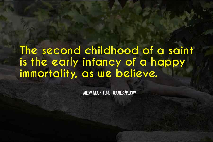 Quotes About Second Childhood #1728377