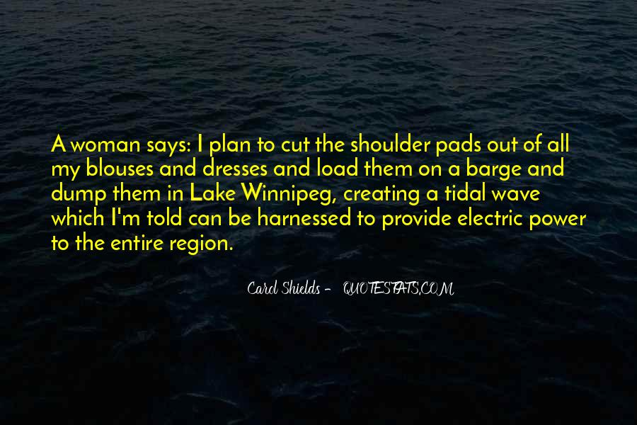 Quotes About Winnipeg #123745