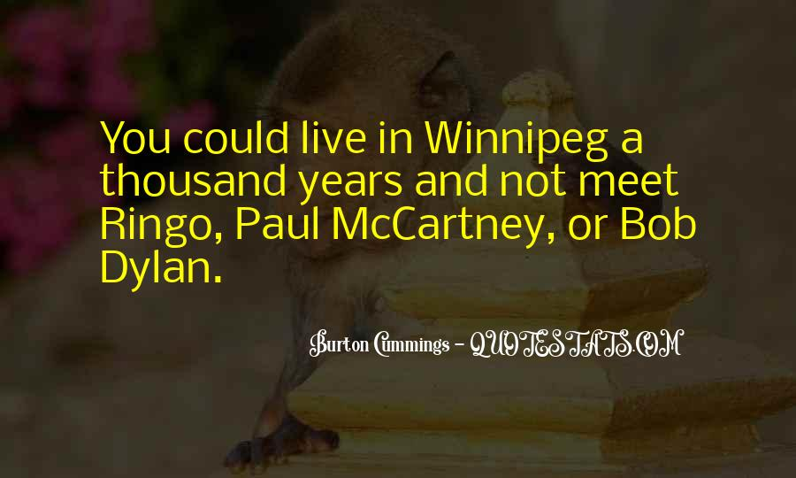 Quotes About Winnipeg #1559245