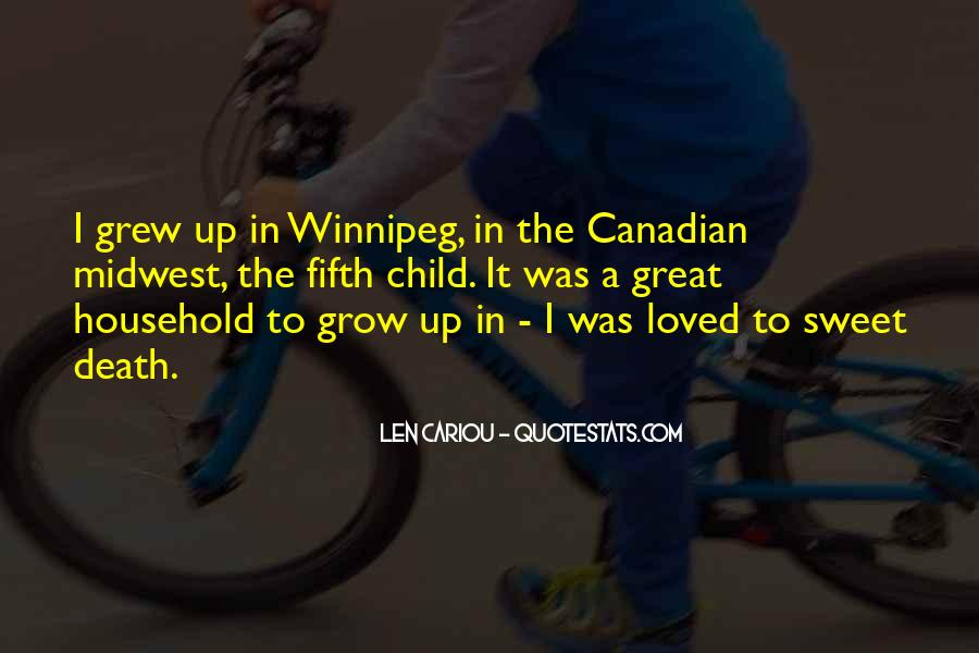 Quotes About Winnipeg #638167