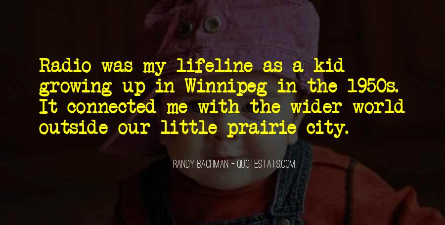 Quotes About Winnipeg #958469
