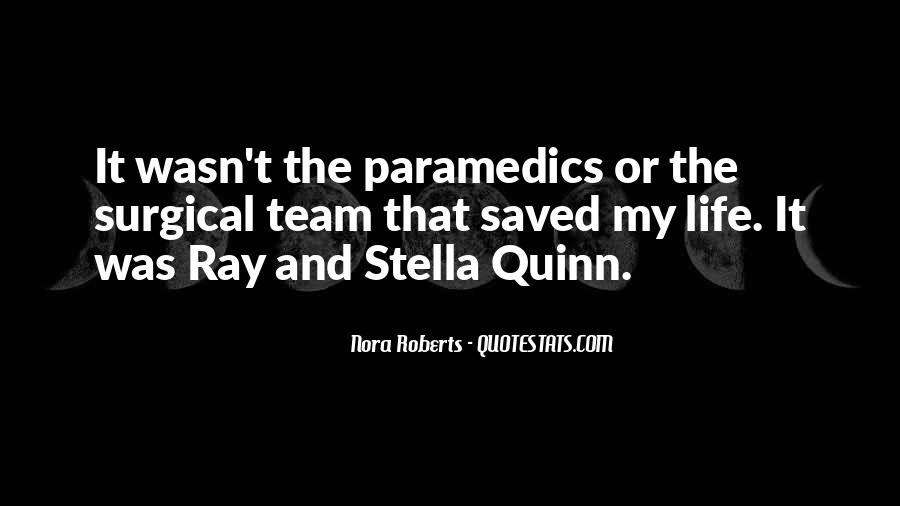 Quotes About Paramedics #116100