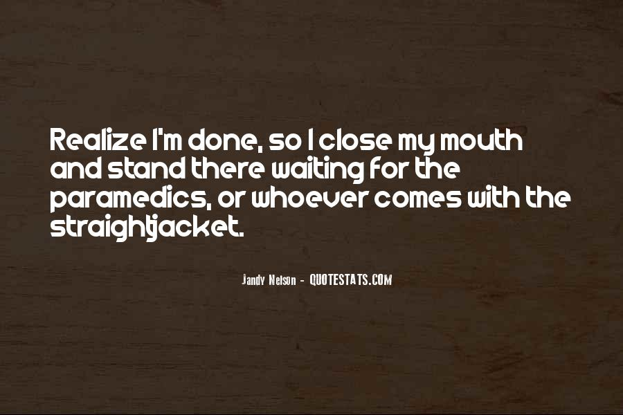 Quotes About Paramedics #1274888