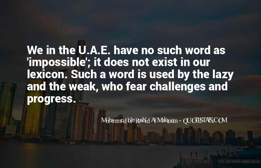 Quotes About Challenges And Fear #1776908