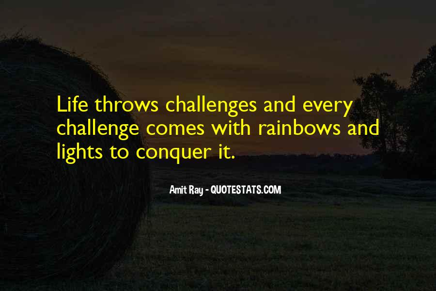 Quotes About Challenges And Fear #280059