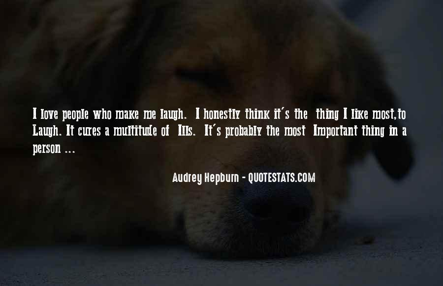 Quotes About The Most Important Person #370859