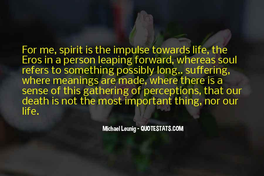 Quotes About The Most Important Person #54466