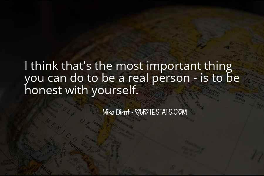 Quotes About The Most Important Person #609225