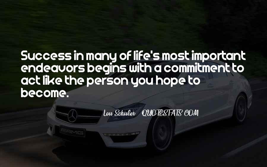 Quotes About The Most Important Person #653305