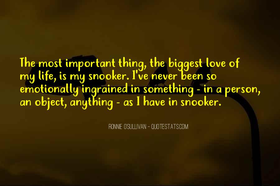 Quotes About The Most Important Person #698112