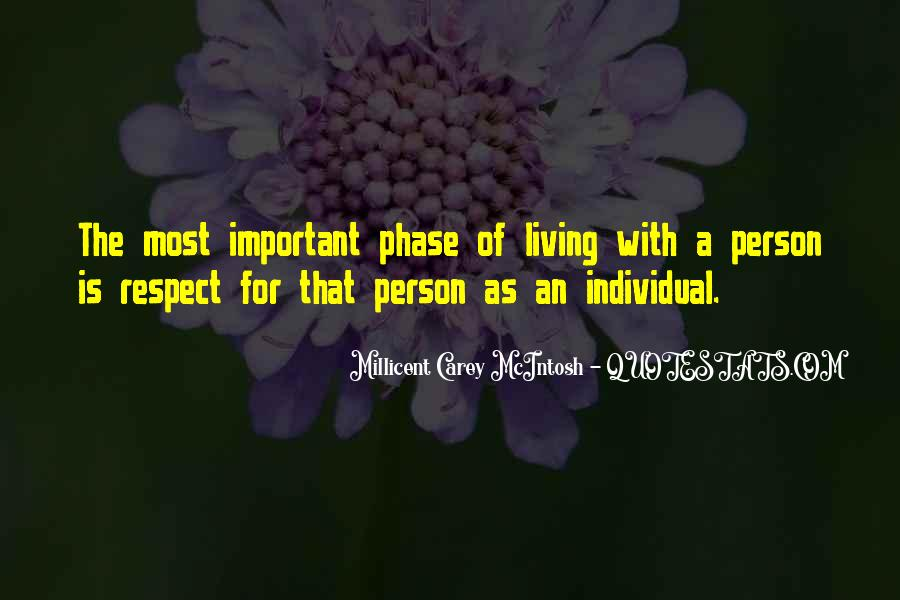 Quotes About The Most Important Person #824482
