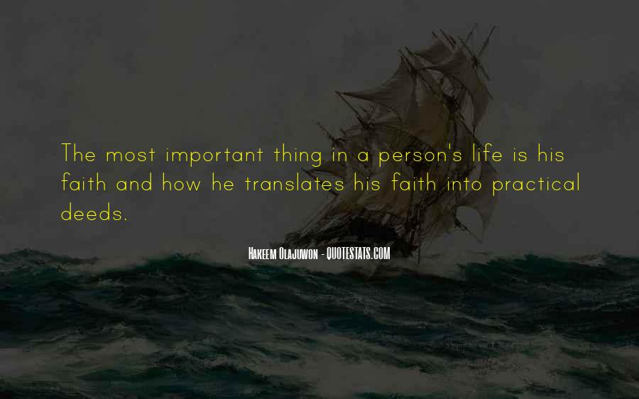 Quotes About The Most Important Person #839122