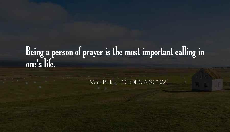 Quotes About The Most Important Person #866039