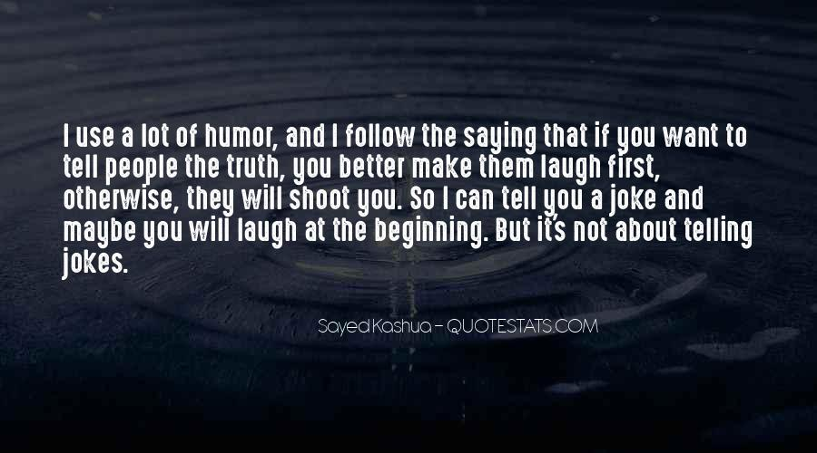 Quotes About Jokes And Truth #171613