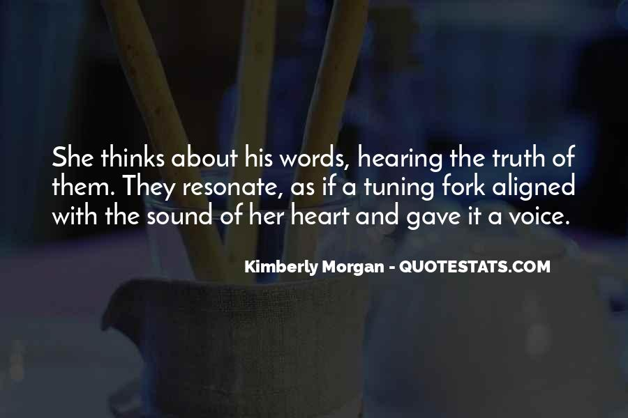 Quotes About Hearing The Voice Of God #1089466