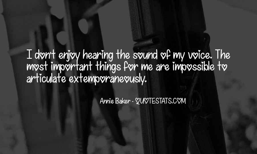 Quotes About Hearing The Voice Of God #1162830