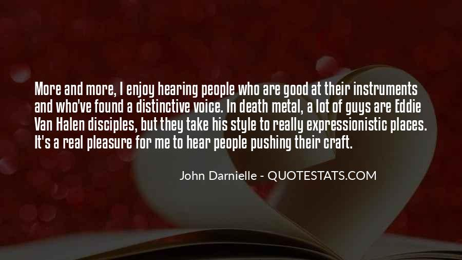Quotes About Hearing The Voice Of God #124464