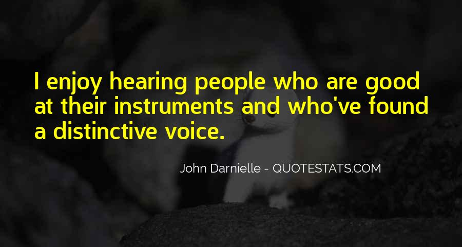 Quotes About Hearing The Voice Of God #162703