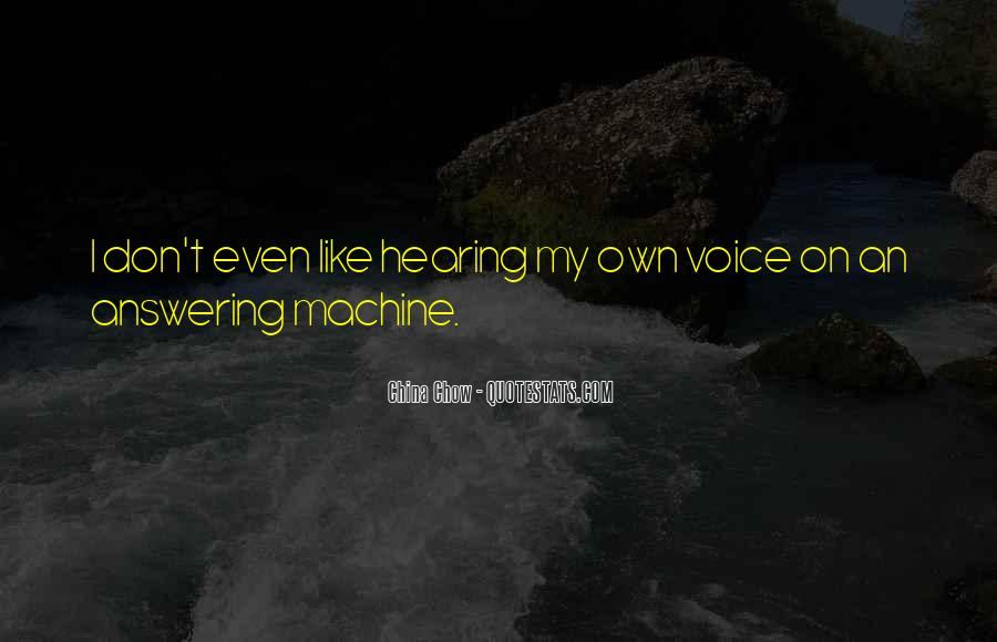 Quotes About Hearing The Voice Of God #255827