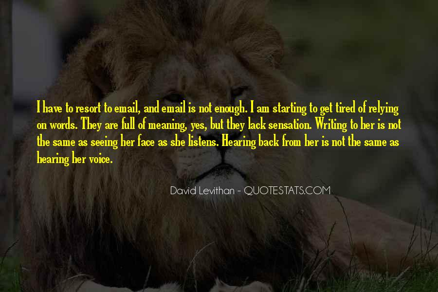 Quotes About Hearing The Voice Of God #293449
