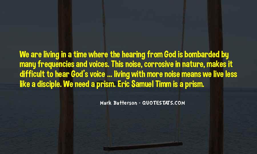 Quotes About Hearing The Voice Of God #309063