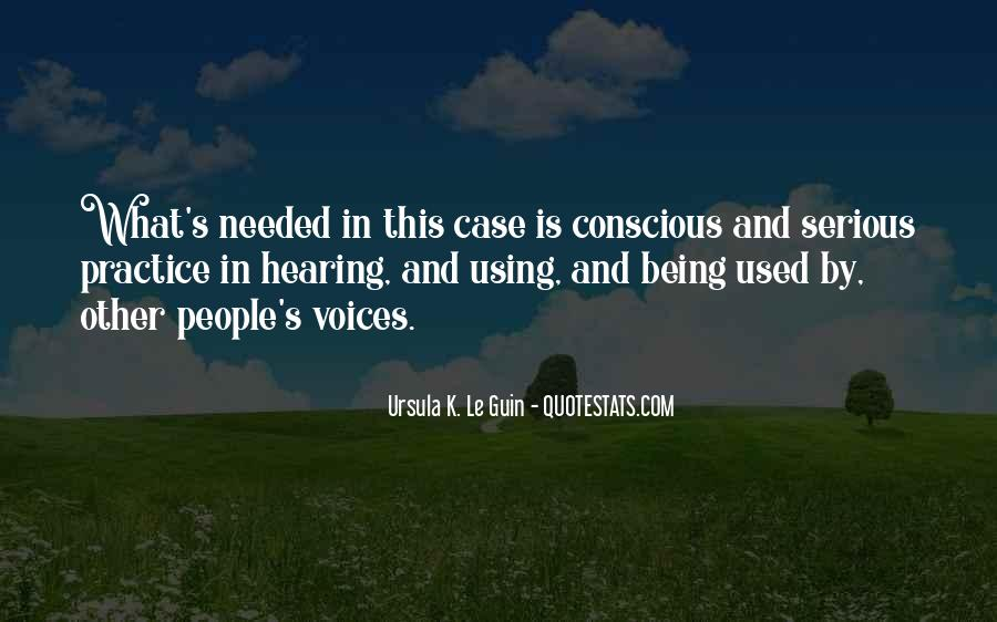 Quotes About Hearing The Voice Of God #42740