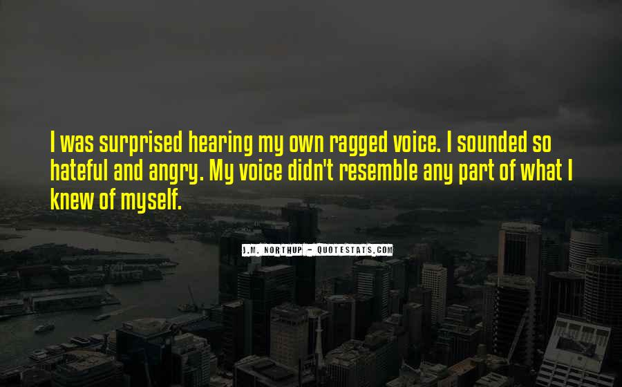 Quotes About Hearing The Voice Of God #482501
