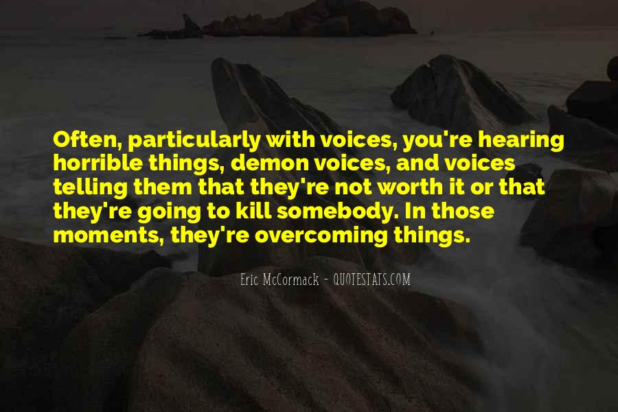 Quotes About Hearing The Voice Of God #752719
