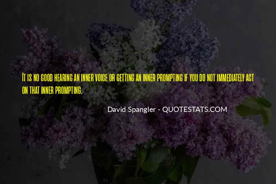Quotes About Hearing The Voice Of God #881263