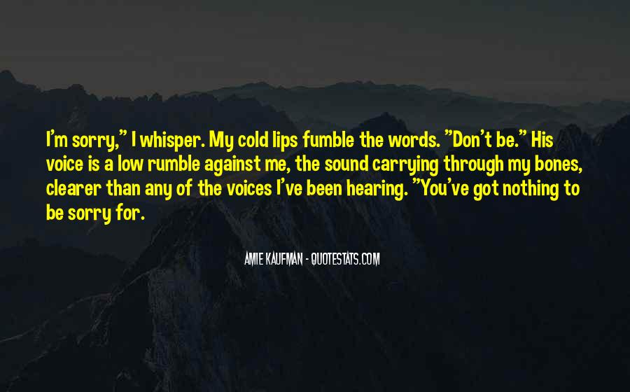 Quotes About Hearing The Voice Of God #946773