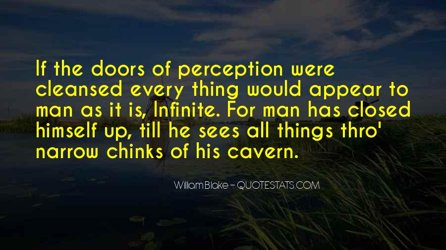Quotes About Doors Of Perception #1033120
