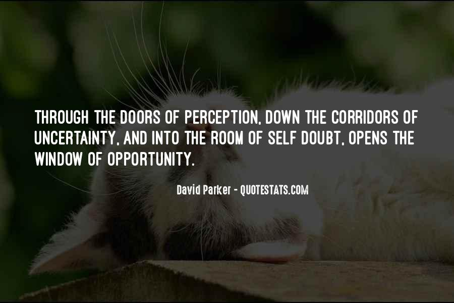 Quotes About Doors Of Perception #1351197