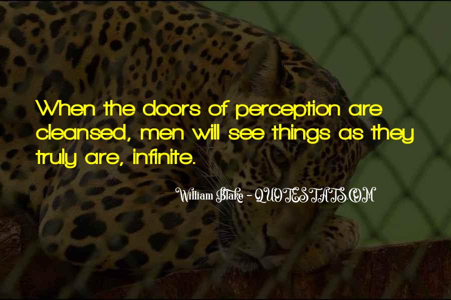 Quotes About Doors Of Perception #52840