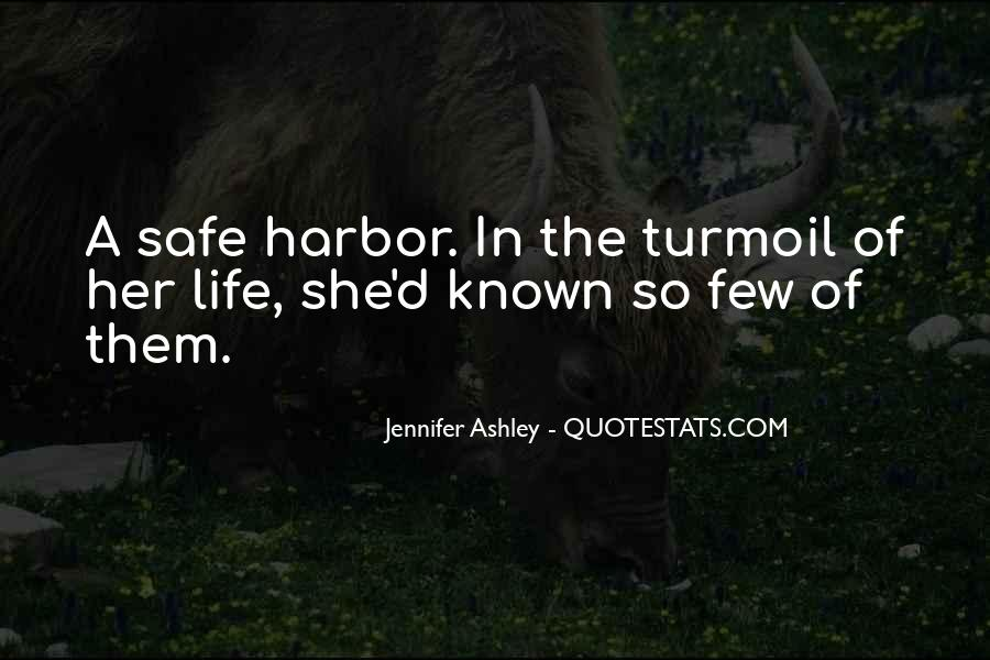 Quotes About A Safe Harbor #1078853
