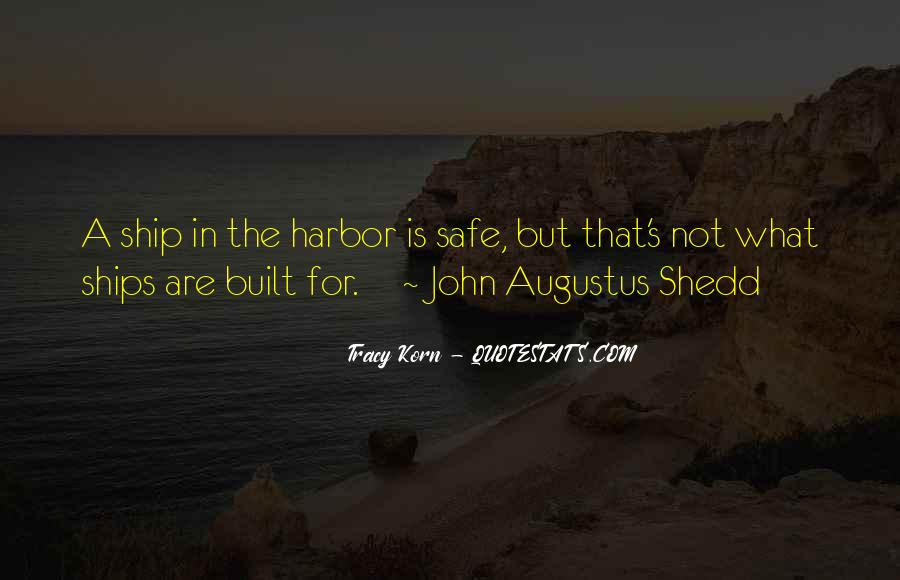 Quotes About A Safe Harbor #1381750