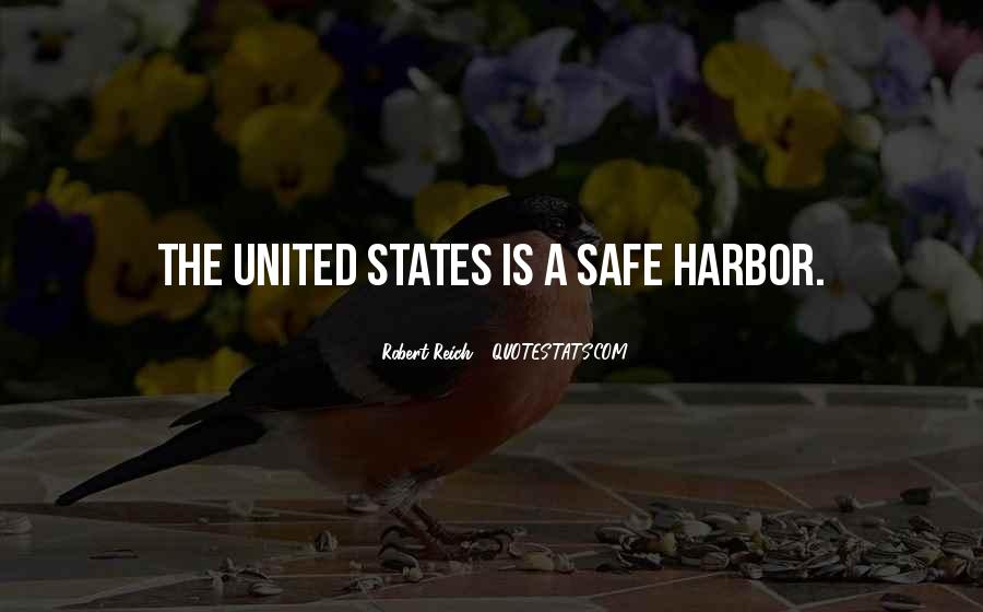 Quotes About A Safe Harbor #218233