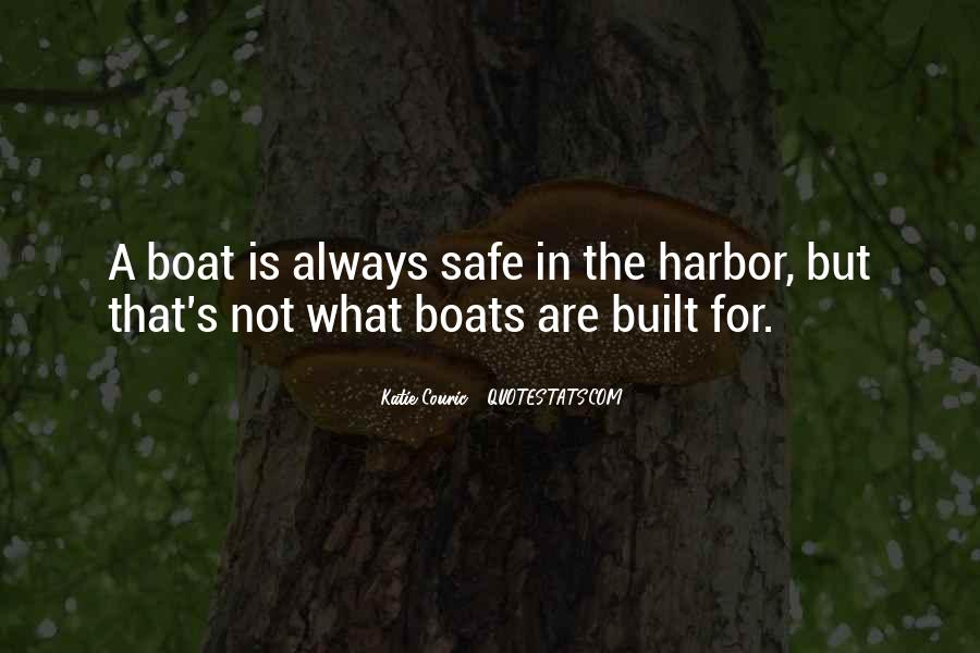 Quotes About A Safe Harbor #449311
