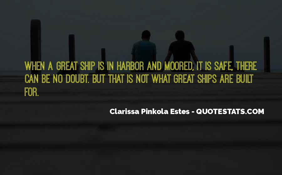 Quotes About A Safe Harbor #784410