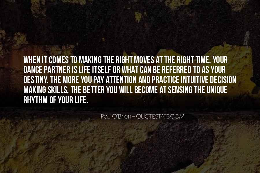 Quotes About The Time Of Your Life #5316